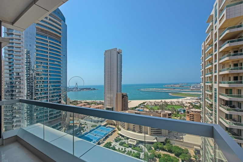 2 Bedroom Apartment For Rent in  Barcelo Residences,  Dubai Marina | 9