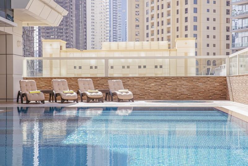 2 Bedroom Apartment For Rent in  Barcelo Residences,  Dubai Marina | 16