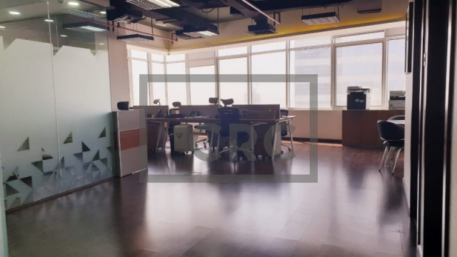 1,268 sq.ft. Office in Jumeirah Lake Towers, Mazaya Business Avenue Bb1 for AED 65,000