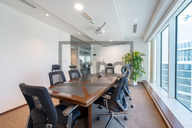 furnished office for sale in business bay, the burlington   3