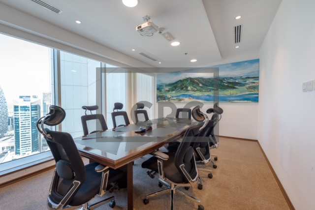furnished office for sale in business bay, the burlington   8