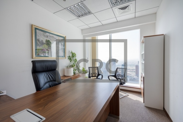furnished office for sale in business bay, the burlington   2