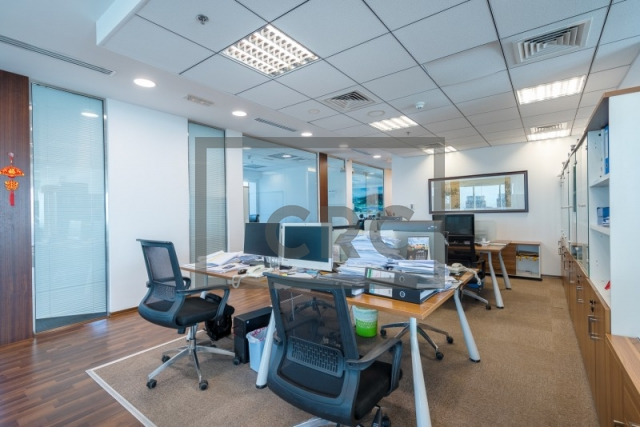 furnished office for sale in business bay, the burlington   7