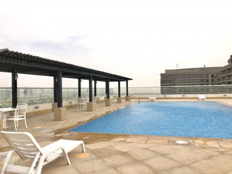 1 Bedroom Apartment For Rent in  Golf View Residence,  Dubai Sports City | 15