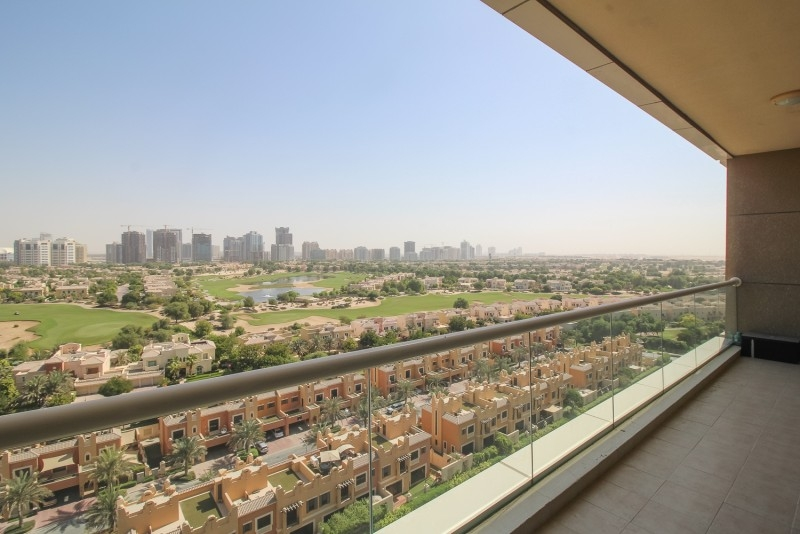 1 Bedroom Apartment For Rent in  Golf View Residence,  Dubai Sports City | 0