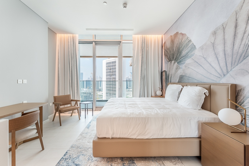 1 Bedroom Apartment For Rent in  SLS Dubai Hotel & Residences,  Business Bay | 4