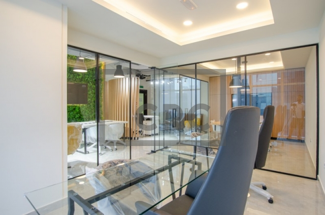 furnished office for sale in business bay, park lane tower | 8