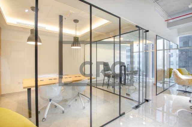 furnished office for sale in business bay, park lane tower | 1