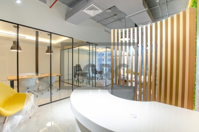 furnished office for sale in business bay, park lane tower | 3