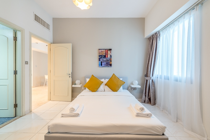 1 Bedroom Apartment For Short Term Rental in  Al Meraikhi Tower,  Sheikh Zayed Road | 8