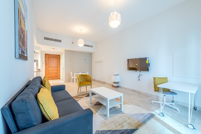 1 Bedroom Apartment For Short Term Rental in  Al Meraikhi Tower,  Sheikh Zayed Road | 1