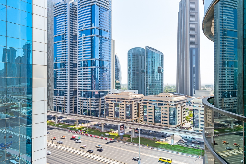 1 Bedroom Apartment For Short Term Rental in  Al Meraikhi Tower,  Sheikh Zayed Road | 11