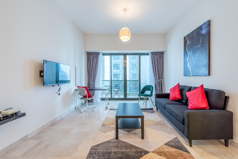 1 Bedroom Apartment For Short Term Rental in  Al Meraikhi Tower,  Sheikh Zayed Road   8