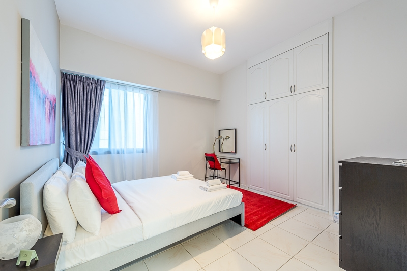 1 Bedroom Apartment For Short Term Rental in  Al Meraikhi Tower,  Sheikh Zayed Road   7