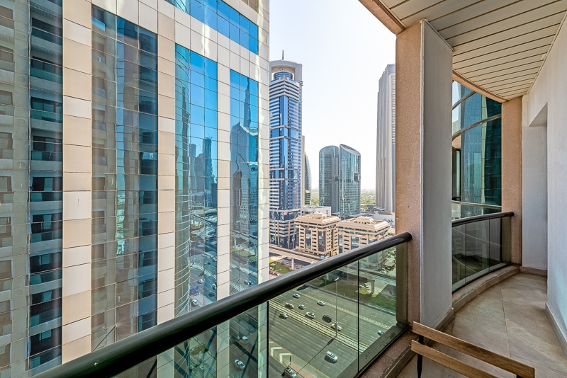 1 Bedroom Apartment For Short Term Rental in  Al Meraikhi Tower,  Sheikh Zayed Road   11