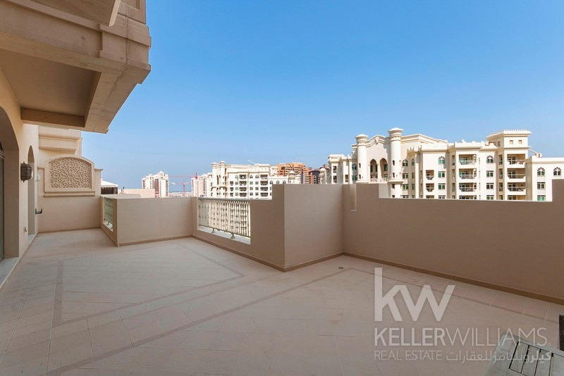 Large Terrace Overlooking Park|Close To Nakheel Mall